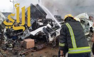 استشهاد سبعة أشخاص إثر مقذوف حوثي استهدف مدنيين في نجران