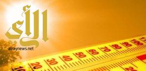 طقس شديد الحرارة على شمال شرق وشرق المملكة