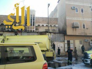 4 حالات وفاة وإصابتين بحريق عمارة سكنية بحي منفوحة بالرياض