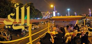 ارتفاع أعداد ركاب باص أبها السياحي من 1000 إلى 2506 أسبوعياً