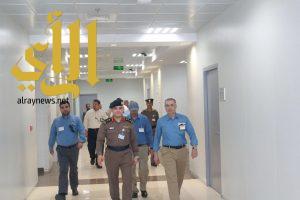 """""""الشيحة"""" يزور مركز العمليات الموحد  ٩١١ ويشيد بما شاهدة من تقنية عالية"""