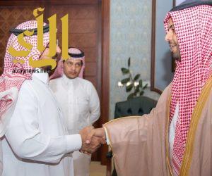 وكيل إمارة الباحة يستقبل مدير عام الإدارة العامة للطرق بالمنطقة