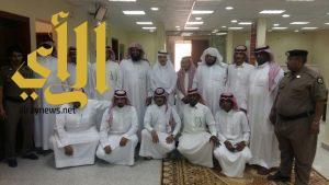 مدير عام الأحوال المدنية بمنطقة الرياض يتفقد فرع وادي الدواسر