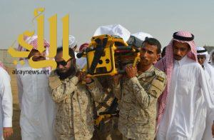 جموع غفيرة تشيع جثمان الشهيد العريف سهلي