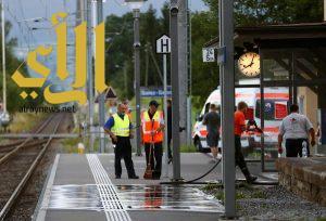 وفاة المشتبه به في الهجوم على قطار بسويسرا 