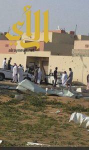 إصابة رجلين وامرأة إثر سقوط مقذوف عسكري من الأراضي اليمنية على صامطة