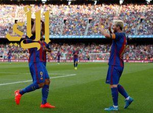 برشلونة يسحق ريال بيتيس بسداسية نارية في الدوري الأسباني