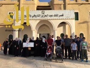 هيئة السياحة تنظم رحلة سياحية للجاليات العربية لمعالم الخرج التاريخية