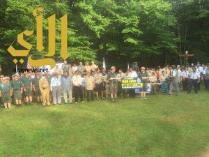 كشافة المملكة تبدأ مشاركتها في الجامبوري الإسلامي الأول في بنسلفينيا الأمريكية