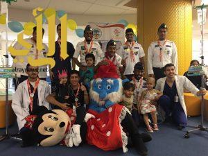 برنامج كشفي ترفيهي للأطفال المرضى بمستشفى الملك عبدالله التخصصي