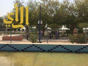 عمليات تطوير منتزه الملك فهد تسير وفق الجدول الزمني