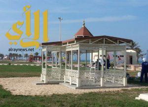 بلدية رأس تنورة تنهي عدد من المشاريع التطويرية لكورنيش المحافظة