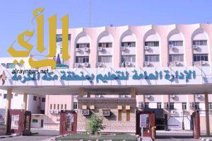 الإدارة العامة للموهوبات تشكر تعليم مكة لتميزه في المشروع الوطني