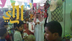 نادي الحي بثانوية ابن النفيس يزور #مهرجان_الخرج_للتمور