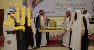 أسرة آل ناصر تحتفي بتقاعد الشيخ سيف بن سعيد آل ناصر