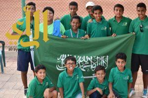 المنتخب السعودي للتنس يحقق الثالث ببطولة الزوجي في مصر