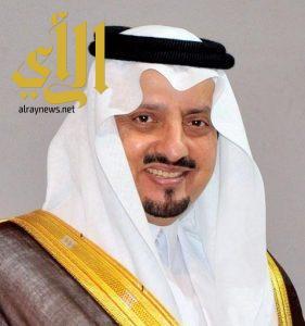 سمو الأمير فيصل بن خالد يرفع الشكر لخادم الحرمين الشريفين
