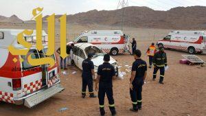 ٢٨ اصابة و حالة وفاة في ١٨ حادث خلال ٢٤ ساعة