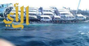 غرق سفينة هندية متوجهة الى اليمن