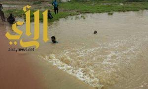 مدني جازان ينتشل جثة يمني ويباشر عدد من الحوادث