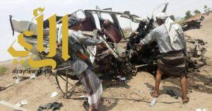 مقتل وإصابة 17 مدنياً في انفجار لغم زرعته ميلشيا الحوثي في تعز