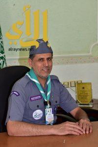 المشرف على معسكرات الخدمة العامة يًعلن نجاح خطة الكشافة في خدمة الحجاج