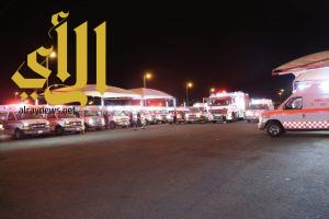 الهلال الأحمر بجدة يُباشر626 بلاغاً خلال أيام عيد الفطرالمبارك