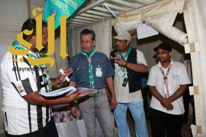 المشرف على معسكرات الكشافة يحث على تقديم أفضل المستويات لخدمة الحجاج
