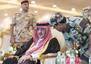 ولي العهد يثمن مشاركة منسوبي القوات المسلحة مع إخوانهم رجال الأمن