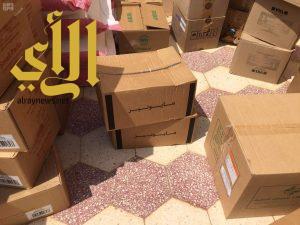 بلدية الدوادمي ترصد فيلا سكنية تستخدم لتخزين المواد الغذائية