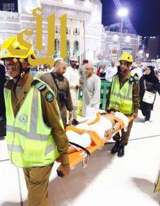 رجال الدفاع المدني: مشاهد رائعة في رعاية حجاج المسجد الحرام