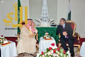 أمير منطقة الرياض يشرف حفل سفارة جمهورية باكستان بمناسبة ذكرى اليوم الوطني لبلادها