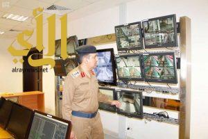 الدفاع المدني يشارك في الخطة التشغيلية لقطار المشاعر