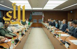 التوقيع على مذكرة تفاهم في المجال الدفاعي بين السعودية واليابان