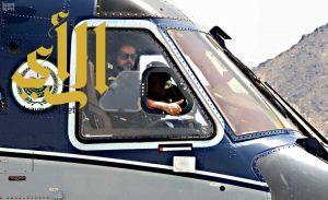 """طيران الأمن ينفذ أكثر من """"18"""" ساعة طيران في أجواء مشعر عرفة"""