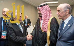 سمو ولي ولي العهد يلتقي رئيس البرازيل على هامش انعقاد قمة مجموعة العشرين