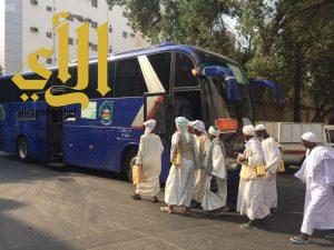 ضيوف الرحمن يغادرون مكة المكرمة بعد أدائهم طواف الوداع