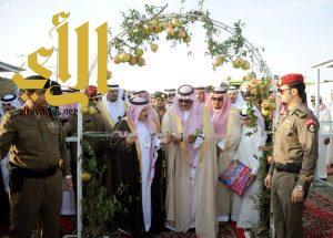 أمير الباحة يفتتح مهرجان الرمان في نسخته الخامسة