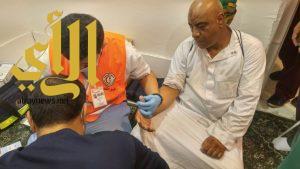 الهلال الأحمر بالباحة يشارك بـ 40 مسعفاً متطوعاً لخدمة الحجيج