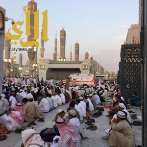 أكثر من خمسون فرقة إسعافية لتغطية صلاة عيد الأضحى بالمسجد النبوي الشريف