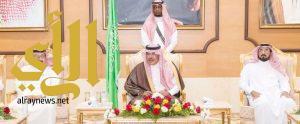 أمير الباحة يستقبل منسوبي الإمارة الذين قدموا لتهنئته بعيد الأضحى المبارك