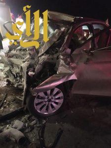 مصرع أربعة أشخاص وإصابتين بحادث سير بصمخ