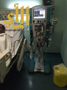 ثلاث حالات غسيل كلوي بمستشفى عرفات العام