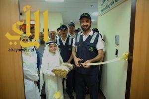 """وزير """"الصحة"""" يطمئن على مرضى القلب في مدينة الملك عبدالله الطبية"""