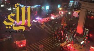 انفجار في حي تشيلسي في مانهاتن بنيويورك