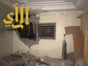 إصابة مواطنة وطفلها في نجران إثر سقوط مقذوف من اليمن