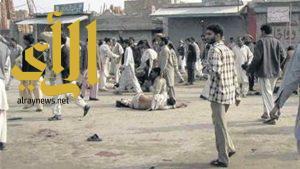 إصابة 11 شخصاً بهجوم انتحاري استهدف مصلين في باكستان