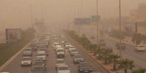 رياح مثيرة للأتربة والغبار على مناطق الشرقية والرياض ونجران
