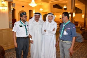 رئيس الاتحاد العالمي للكشاف المسلم يشيد بأعمال الكشافة في الحج