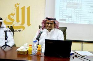 نشاط ألمع يعقد ورشة تدريبية لقادة المدارس  للاحتفاء باليوم الوطني